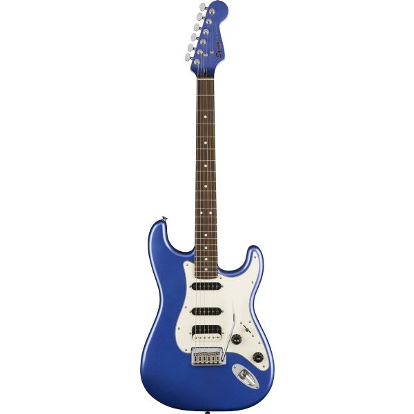 Fender Squire  Contemporary HSS Strat Electric Guitar Ocean Blue Metallic